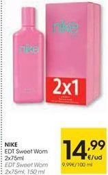 Oferta de Perfumes Nike por 14,99€