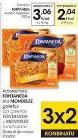 Oferta de Galletas Digestive Fontaneda por 3,06€