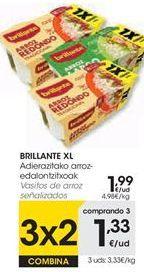 Oferta de Arroz en vasitos Brillante por 1,99€