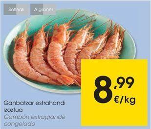 Oferta de Gambones por 8,99€