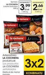 Oferta de Lasaña boloñesa La Cocinera por 3,99€