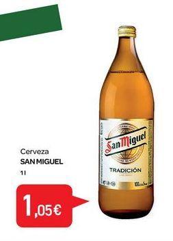 Oferta de Cerveza San Miguel por 1,05€