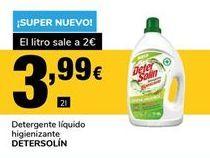 Oferta de Detergente líquido Detersolín por 3,99€