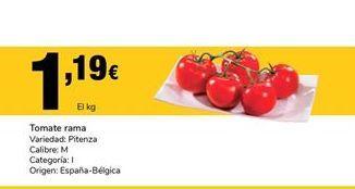 Oferta de Tomate de rama por 1,19€