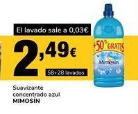 Oferta de Suavizante Mimosín por 2,49€