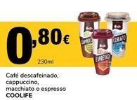 Oferta de Café descafeinado COOLIFE por 0,8€