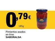 Oferta de Pimientos asados saboralsa por 0,79€