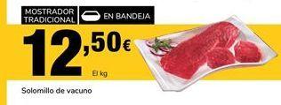 Oferta de Solomillo de vacuno por 12,5€