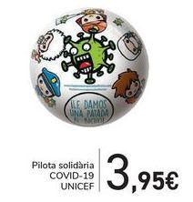 Oferta de Balón solidario COVID-19 UNICEF  por 3,95€