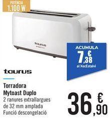 Oferta de Tostadora Mytoast Duplo  por 36,9€
