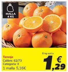 Oferta de Naranja por 1,29€