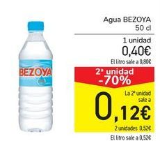 Oferta de Agua Bezoya por 0,4€