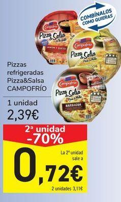Oferta de Pizza refrigeradas Pizza&Salsa CAMPOFRÍO  por 2,39€