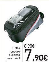 Oferta de Bolsa cuadro bicicleta para móvil  por 7,9€