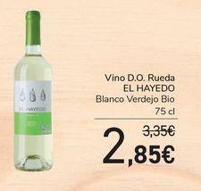 Oferta de Vino Rueda EL HAYENDO  por 2,85€