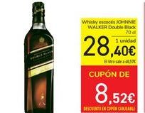 Oferta de Whisky escocés Johnnie Walker por 28,4€