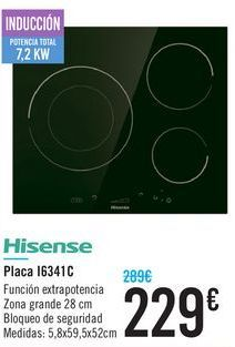 Oferta de Placa I6341c HISENSE  por 229鈧�