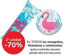 Oferta de En TODOS los manguitos, flotadores y colchonetas, iguales o combinados  por