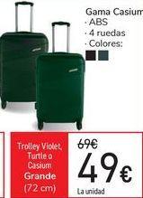 Oferta de Trolley Violet Turtle o Casium por 49€