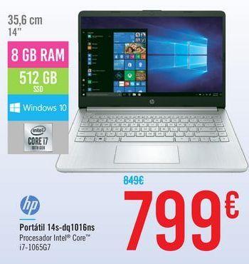 Oferta de Portátil 14s-Dq1016ns por 799€