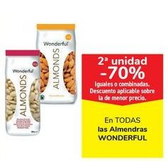 Oferta de En TODAS las Almendras WONDERFUL por