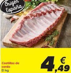 Oferta de Costillas de cerdo por 4,49€