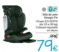 Oferta de Silla de auto Smagic Fix  por 79€