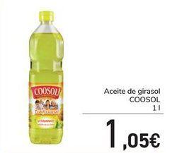 Oferta de Aceite de girasol COOSOL por 1,05€