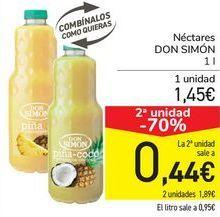 Oferta de Néctares DON SIMÓN  por 1,45€