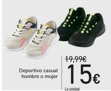Oferta de Deportivo casual hombre o mujer  por 15€