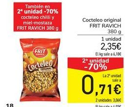 Oferta de Cocteleo original FRIT RAVICH por 2,35€
