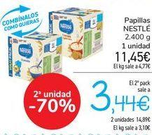 Oferta de Papilla NESTLÉ  por 11,45€