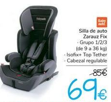 Oferta de Silla de auto Zarauz FIX  por 69€