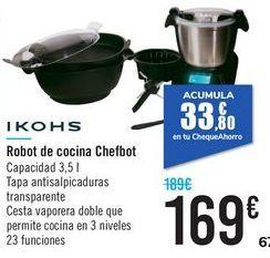 Oferta de Robot de cocina ChefBot Ikohs  por 169€