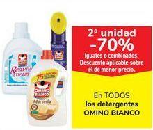 Oferta de En TODOS los detergentes OMINO BIANCO  por