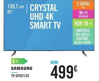 Oferta de Tv 55tu7125 SAMSUNG  por 499€
