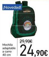 Oferta de Mochila adaptable a carro  por 24,9€