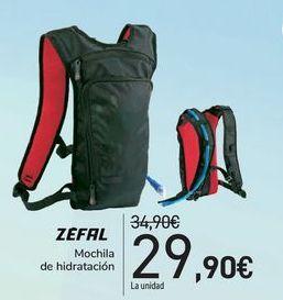 Oferta de Mochila de hidratación ZEFAL  por 29,9€