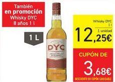 Oferta de Whisky Dyc por 12,25€