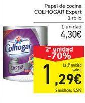Oferta de Papel de cocina Colhogar EXPERT  por 4,3€