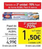 Oferta de Papel de aluminio ALBAL  por 4,99€