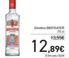 Oferta de Ginebra Beefeater por 12,89€