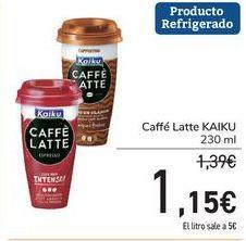Oferta de Caffé Latte KAIKU por 1,15€