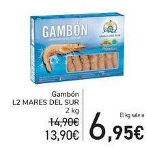Oferta de Gambón L2 MARES DEL SUR  por 13,9€