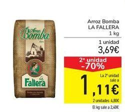 Oferta de Arroz bomba LA FALLERA por 3,69€