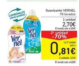 Oferta de Suavizante Vernel por 2,7€