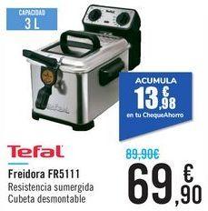 Oferta de Freidora TEFAL FR5111 por 69,9€