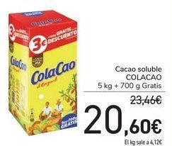 Oferta de Cacao soluble COLACAO por 20,6€