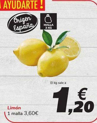 Oferta de Limón por 3,6€