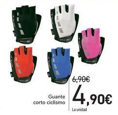 Oferta de Guantes corto ciclismo  por 4,9€